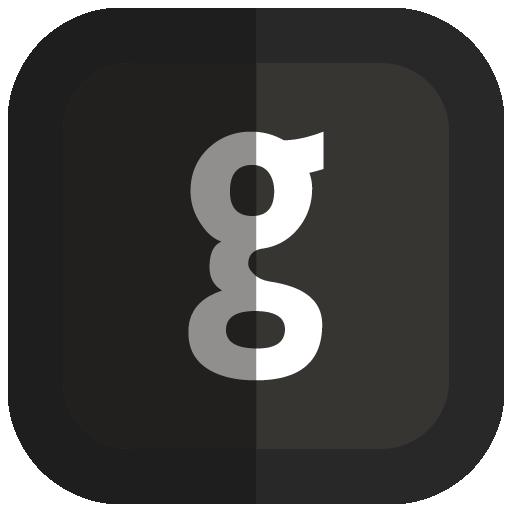 Github Icon Folded Social Media Iconset Uiconstock