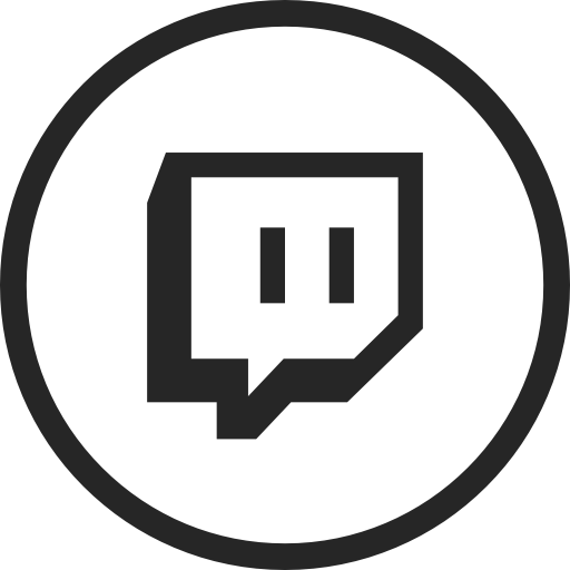 Circle, Live, Livestream, Media, Social, Social Media, Twitch Icon