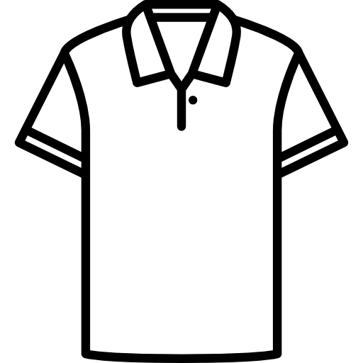 Cotton Polo Shirt Icons Free Download