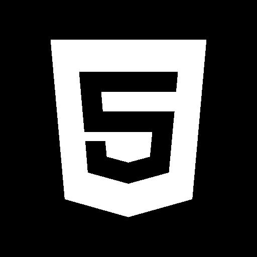 Html Icon Solid Social Media Logos Freepik