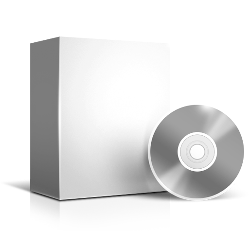 Grey Software Box Icon
