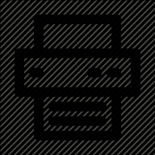 Device, Hardware, Print, Printer, Software Icon