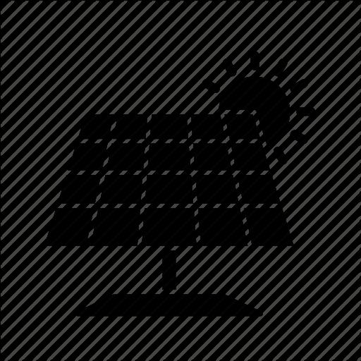 Energy, Panel, Power, Solar Icon