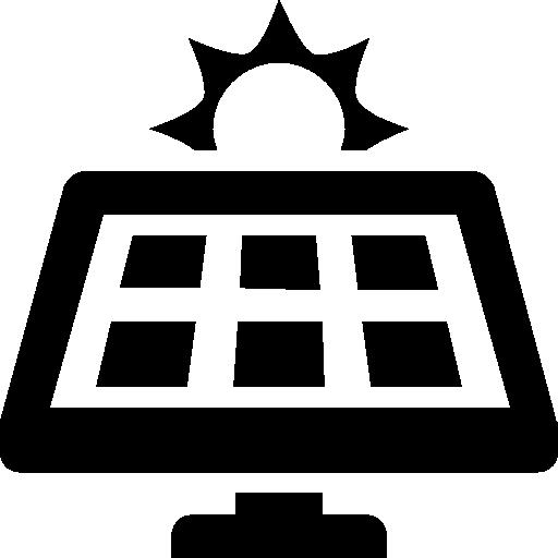 Industry Solar Panel Icon Windows Iconset