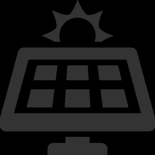 Panel, Solar Icon