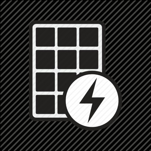Cells, Energy, Module, Panel, Photovoltaic, Renewable, Solar Icon