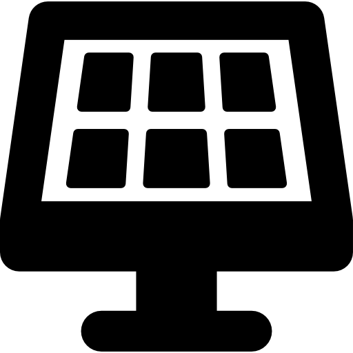 Solar Panels Icons Free Download