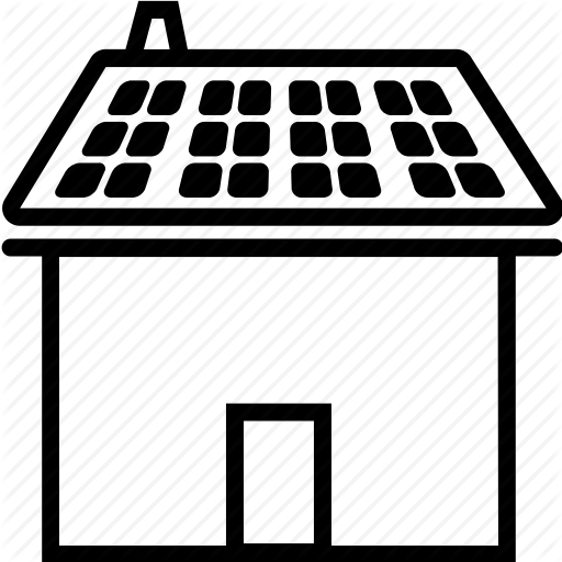 Energy, Home, House, Panel, Roof, Solar, Solar Panel Icon