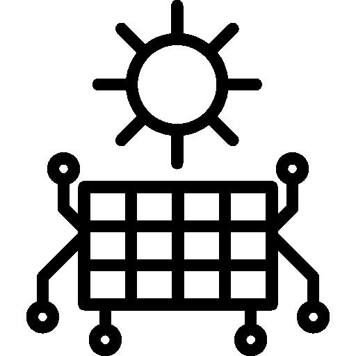 Solar Panel Icon Smart Home System Freepik