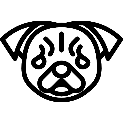Pug Icons Free Download