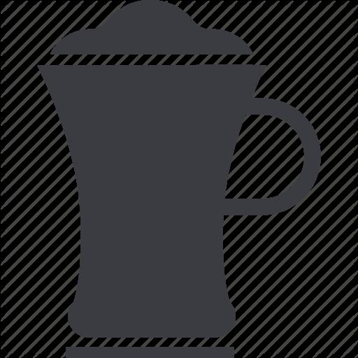 Cappuccino, Coffee, Drink, Hot, Latte, Macchiato, Mocha Icon