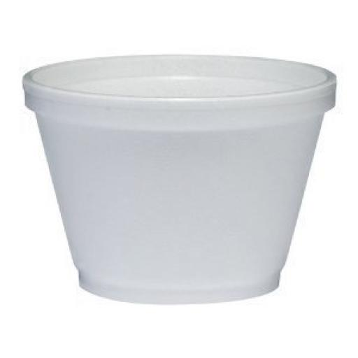Dart Solo White Foam Polystyrene Food Container