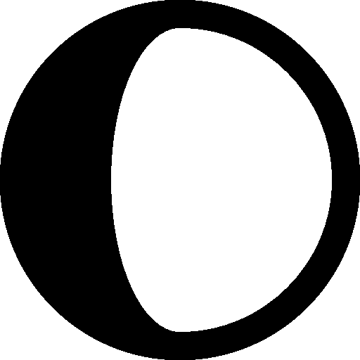 Astrology Waxing Gibbous Icon Windows Iconset