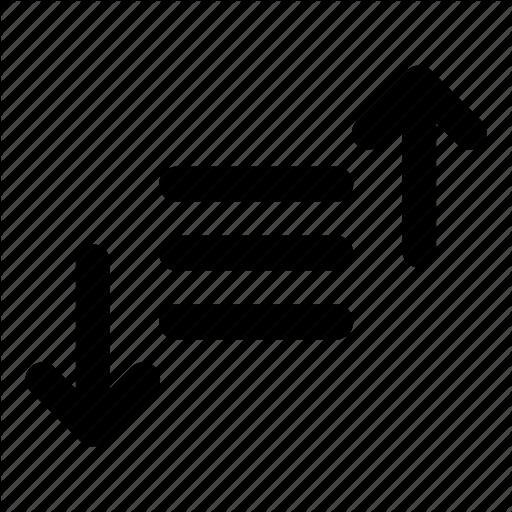 Filter, Sort Icon