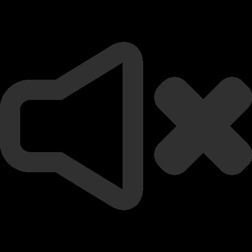 Sound Off Icon Mono General Iconset Custom Icon Design