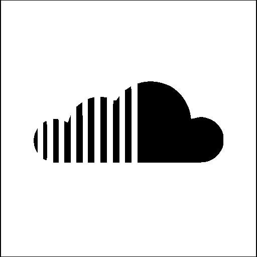 White Soundcloud Icon