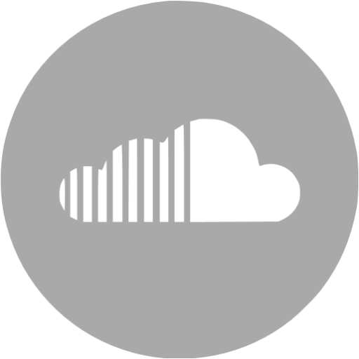 Dark Gray Soundcloud Icon