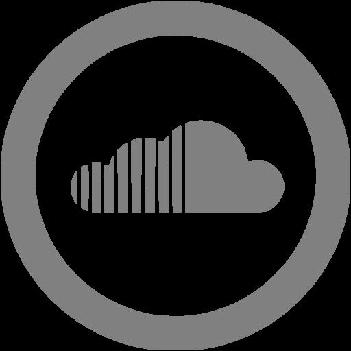 Gray Soundcloud Icon