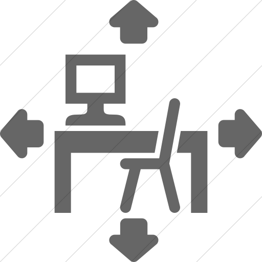 Simple Gray Iconathon Flexible Learning Space Icon