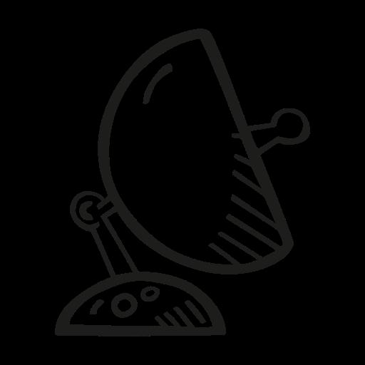 Astronomy, Dish, Satellite, Space Icon