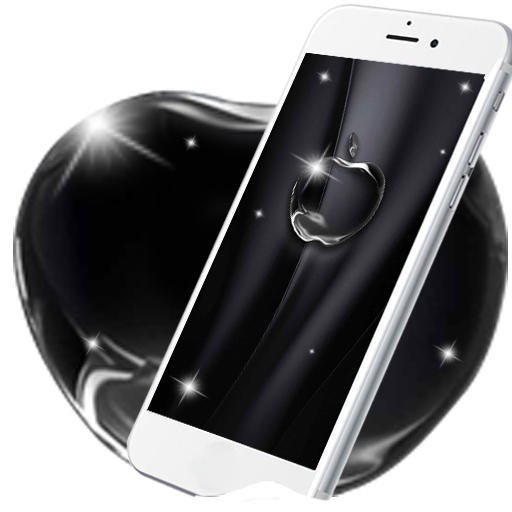 Coal Black Apple Live Wallpaper Appstore For Android
