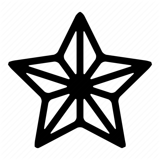 Army, Rank, Space, Star Icon