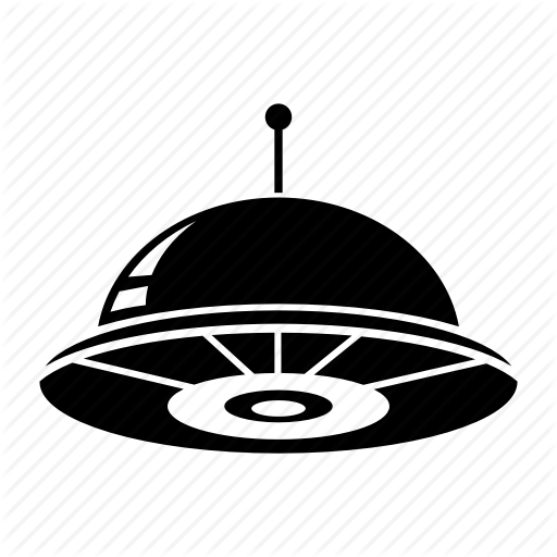 Alien, Creature, Spaceship, Ufo Icon