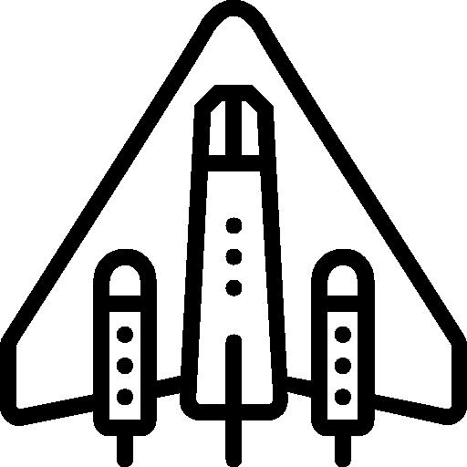 Spaceship Icon Space Set Smashicons