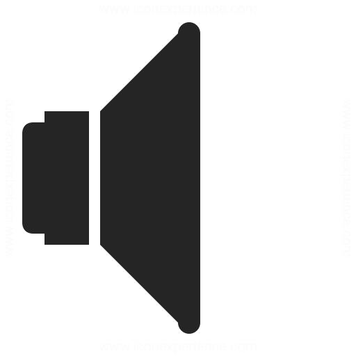 Loudspeaker Icon Iconexperience