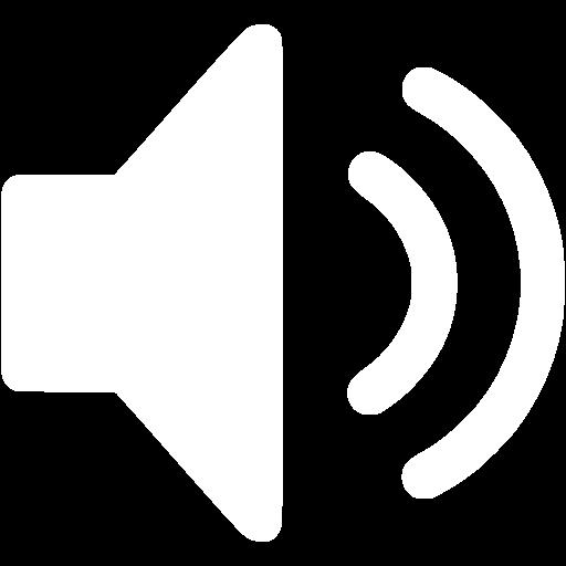 White Speaker Icon