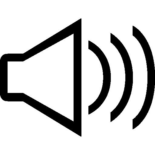 Audio Interface Speaker Symbol Icons Free Download