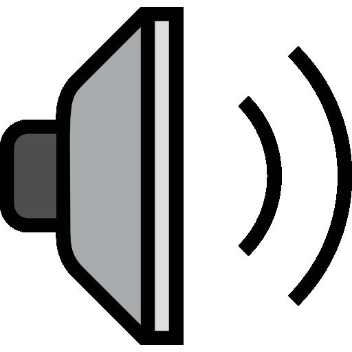 Speaker Icon White