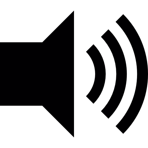 Speaker With Maximum Sound Icons Free Download