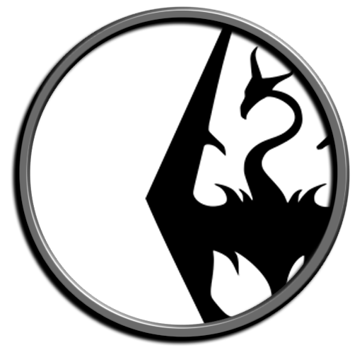Skyrim Icon Transparent Png Clipart Free Download