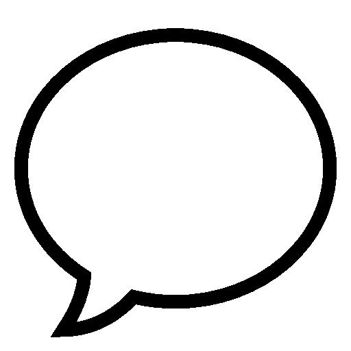 Bubble, Speech, Vector Icon