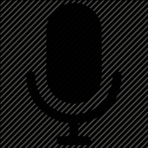 Mic, Microphone, Siri, Speaker, Speech, Talk, Text Icon Icon