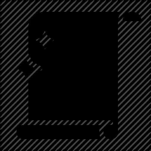 Document, Magic, Magic Scroll, Scroll, Spell Icon