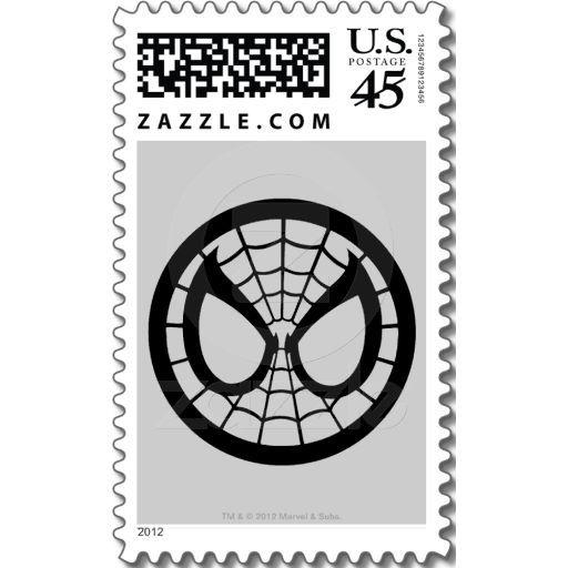 Spider Man Icon Stamp Birthday Spidergirl Man