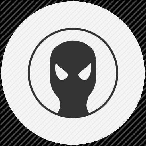 Avatar, Face, Man, Mask, Round, Spider, Spiderman Icon