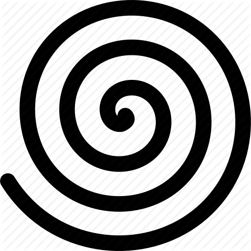 Curve, Hypnosis, Rotate, Spiral, Suggestion, Whirl, Whirlpool Icon