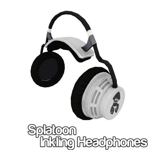 Splatoon Inkling Headphones Splatoon Headphones