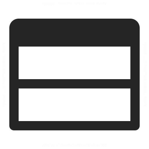 Window Split Ver Icon Iconexperience