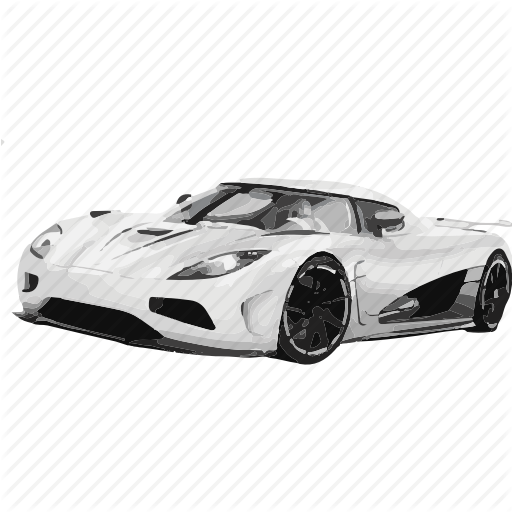 Fast Car Png Black And White Transparent Fast Car Black And White