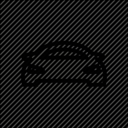 Racing Car, Sports Car, Super Car Icon