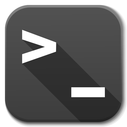 Apps Terminal Icon Flatwoken Iconset Alecive