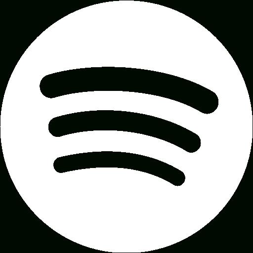Great White Spotify Icon Free White Site Logo Icons This Week