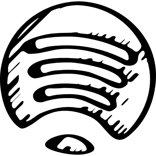 Spotify Sketched Logo Variant Icons Free Download