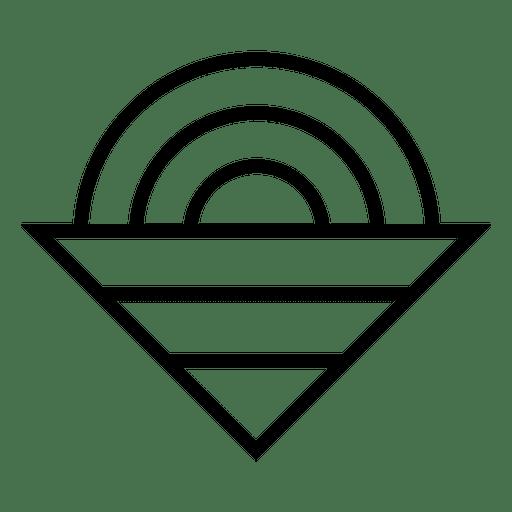 Triangle Circle Logo