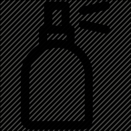 Bottle, Hair Spray, Salon Spray, Spray Bottle, Sprayer Icon Icon