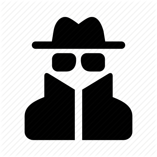 Glasses, Hat, Man, Person, Spy, Thief, User Icon